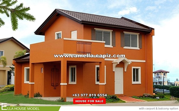 Camella Capiz House and Lot for Sale in Capiz Philippines