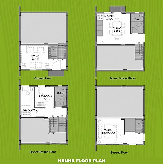 Hanna Floor Plan House and Lot in Capiz