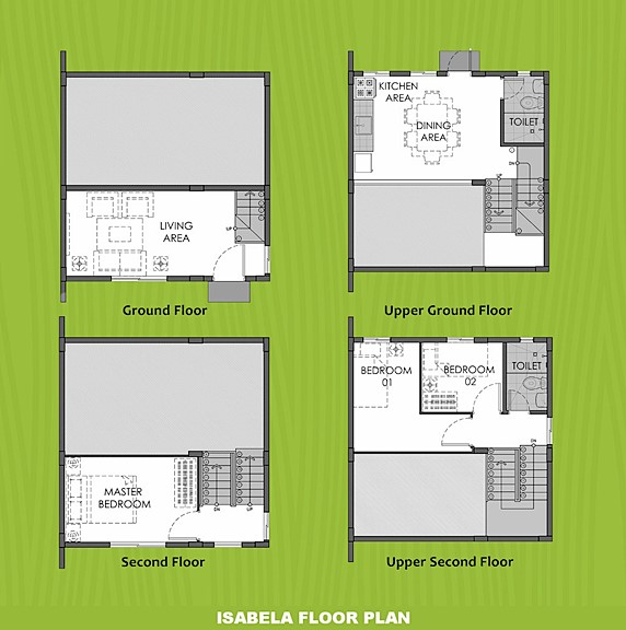 Isabela Floor Plan House and Lot in Capiz