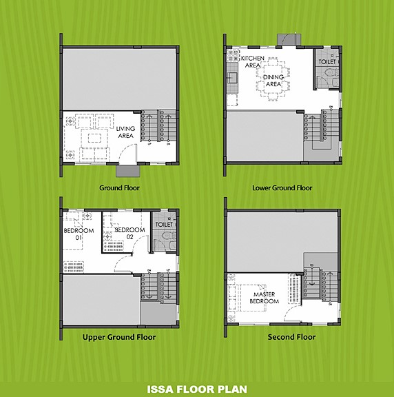 Issa Floor Plan House and Lot in Capiz