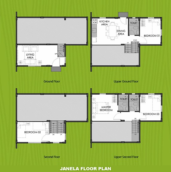 Janela Floor Plan House and Lot in Capiz