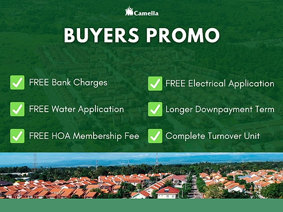 Promo for Camella Capiz.