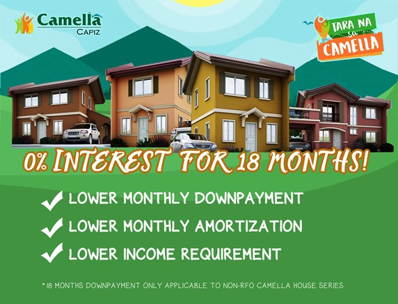 News regarding Camella Capiz.