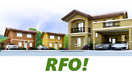RFO Units for Sale in Camella Capiz.
