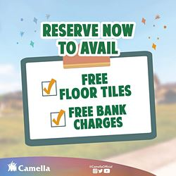 Promo for Camella Capiz.